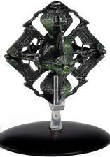 Eaglemoss Star Trek Borg Queen's Vessel with Magazine #EMST0109