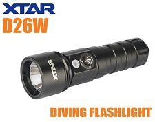 New XTAR D26W Whale-W Cree XM-L2 U2 1000 Lumens LED Dive Light Diving Flashlight