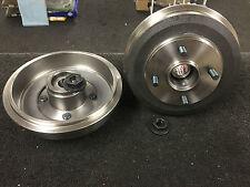 Para Ford Fiesta 1.4 Zetec Tdci Trasero los tambores de freno de 2 ruedas rodamientos ajustada