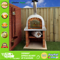 OUTDOOR WOOD FIRED PIZZA OVEN 80 CM + MAINTENANCE KIT