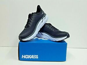 HOKA ONE ONE CLIFTON 7 Women's Running Shoes Size 7.5 (1110509 BWHT) NEW