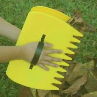 Leaf Scoops Garden Lawn Leaves Grass Hand Rake Scoop Garbage Tool Grabber P N8P5