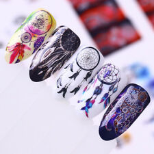 12 patterns Water Decals Dream Catcher Manicure Nail Art Transfer Stickers