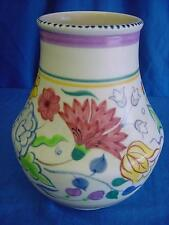 "POOLE POTTERY ELABORATE BN PATTERN SHAPE 433 VASE 6.75"" BETTY GOOBY (303)"