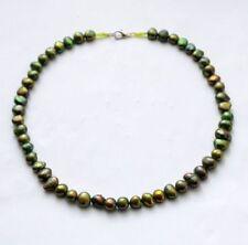 Markenlose Halsketten mit Perlen aus Zucht