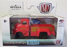 M2 MACHINES AUTO TRUCKS R38 1958 DODGE COE TRUCK Red