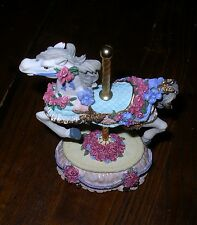 Heritage House Carousel Horse music box plays Yesterday
