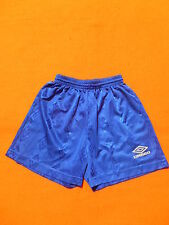UMBRO Shorts Sporthose Blue Bleu True Vintage Sport Football Handball Running