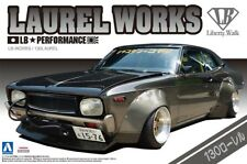 Nissan LB Works 130 Laurel 1:24 Model Kit Bausatz Aoshima 011485