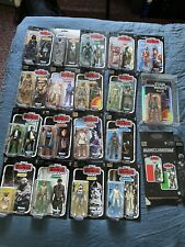 star wars black series empire strikes back 40th Lot With SDCC Boba Fett