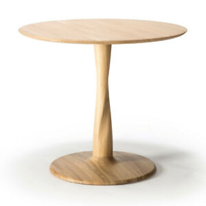 ETHNICRAFT Torsion Oak Dining Table RRP £949 - Now £569