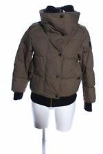 BURBERRY Kurzjacke braun Steppmuster Casual-Look Damen Gr. DE 32 Jacke Jacket