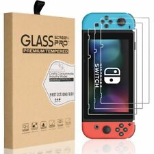 PanzerFolie aus Echtglas 9H Schutzfolie Panzer Echt Glas für Nintendo Switch