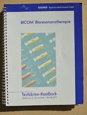 BICOM KTT Testkästen Handbuch für KTT mit 12 Testkästen Beschreibungen