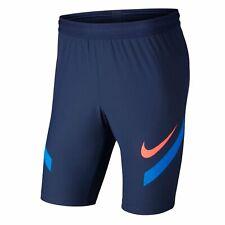 Nike VaporKnit Strike Men's Football Soccer Shorts Blue Size S M CJ1990-410