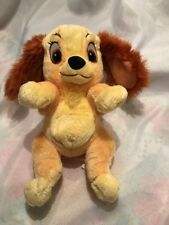 "DISNEY Parks Babies Lady And The Tramp Lady 11"" Plush Toy Doll"