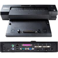 Dell E-Port Plus Dock Station Replicator PR02X E6500 E5500 E5400 E4300 E4200 XT3