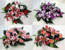 Deko-Blumensträuße Pflanzen aus Gewebe