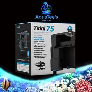NEW Seachem Tidal Power Filter 75 Made by SICCE Fish Tank Aquarium salt & Fresh