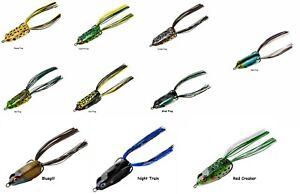 Booyah Pad Crasher Jr. Topwater Frog - Choice of Colors