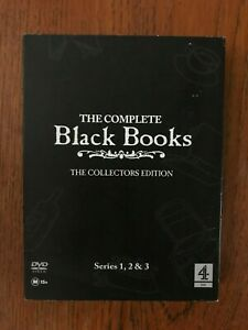 Black Books: Series 1 - 3 DVD Region 4 DISC'S LIKE NEW
