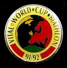 Biathlon World Cup 1991/92 Pin Badge Rare