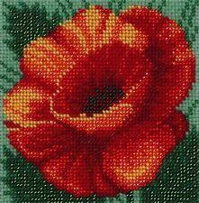 VDV Bead Embroidery Kit - Red Poppy
