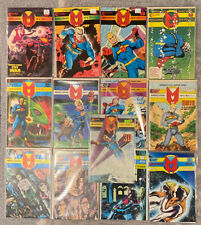 Lot of 13x MIRACLEMAN 2 3 4 5 6 7 8 9 10 12 14 16 3D Eclipse Comics Alan Moore
