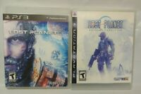 Lost Planet 1 + 3 Extreme Conditon - Game Lot PS3 Sony Playstation 3 Tested