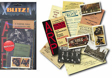 World War 2 Blitz replica memorabilia pack: KS2 KS3 History/Care home reminisce