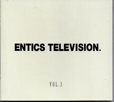 ENTICS - VOL.3 - TELEVISION - CD NUOVO 2014 - Sigillato HIP HOP