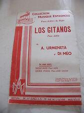Partitura Los Gitanos Un Urmeneta y Di Ministerio de educación Paso doble