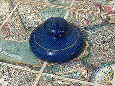 More details for antique letts son & co art pottery map paperweight - macintyre pottery interest