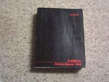 1992 Acura NSX Factory Shop Service Repair Manual 3.0L V6