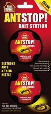 Home Defence Ant Killer Trap Stop Bait Stations Destroy Ants Nests - 2x 10g