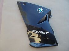 06 07 08 09 10 11  BMW F800ST OEM  left lower fairing SAPHIRE BLACK 46637682697