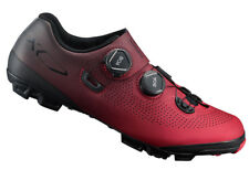 Shimano XC7 Carbon MTB Boa Mountain Bike Shoes Red SH-XC701 42 (US 8.3)