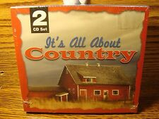 It's All About COUNTRY 2 CDs of 30+Great Country songs  Enlarge Photos for List