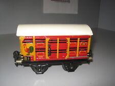 *** Märklin Spur 0 1686 Kleintierwagen von 1937 bis 1940 hergestellt Marklin ***