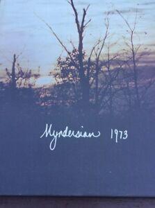 "1973 "" Myndersian"" Mynderse Academy Seneca Falls New York Lot B3"