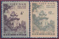 VIETNAM du NORD N°189/190 (*) Emis Neufs sans Gomme, 1960 North VietNam 119-120