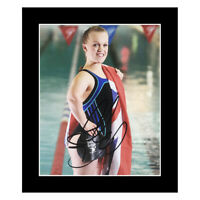 Signed Ellie Simmons Photo Display - Olympic Icon +COA