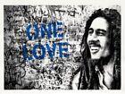 Mr. Brainwash Happy Birthday Bob Marley One Love Screenprint SET OF 5 xx/74 S/n