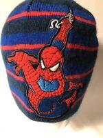 Spiderman beanie winter hat embroidered