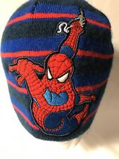 Spiderman beanie winter hat embroidered