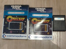 Commodore 64 Omega Race Cartridge Game Boxed Complete