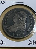1812 US Capped Bust Half Dollar!!