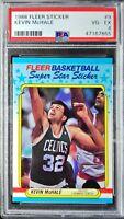 1988 Fleer Sticker Kevin McHale PSA 4 HOF, Celtics Legend! Great Looking Card!
