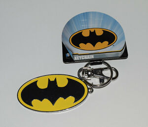 Batman Keychain DC Comics Enameled Logo Officially Licensed Product C&D - NEW