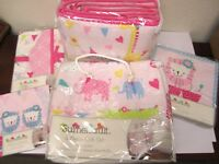 Sumersault Circus Circus 10 Piece Nursery in a Bag  Crib Set   *NEW*